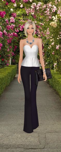 Covet Fashion game...outfit created by Rosi