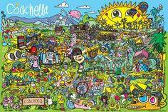 coachella poster - Google Search