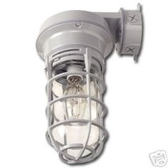 These are my bathroom lights-Vapor tight wall mount light fixture 150w incandescent