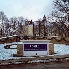 December looks good on you, #carrollu. ❄️