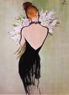 René Gruau Flowers