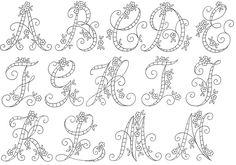 algunos abecedarios de internet para bordar a bastidor