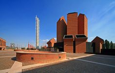 Santo Volto Church,Turin, Italy by Mario Botta 2001-6