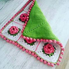 Manta,crochet.
