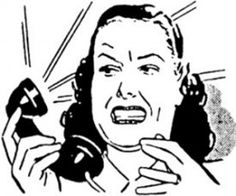 Abusive calls - Know what I mean Verne?