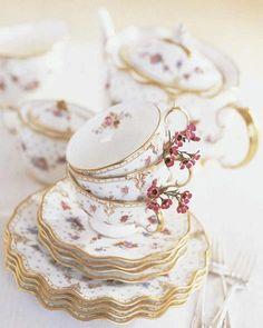 Delicate tea.