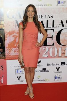 Michelle Jenner wearing Elisabetta Franchi, Chanel Clutch, and Jimmy Choo – CEC Medals Gala Vestidos Color Salmon, Girls Short Dresses, Formal Dresses, Kylie Jenner Hair, Peplum Dress, Bodycon Dress, Trending Today, Couture, Star Fashion