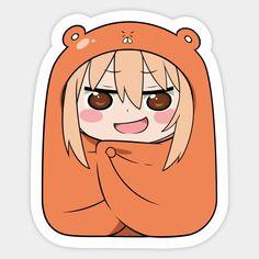 Shop Chibi Umaru-chan himouto umaru chan stickers designed by as well as other himouto umaru chan merchandise at TeePublic. Himouto Umaru Chan, Aesthetic Letters, Aesthetic Stickers, Macbook Stickers, Anime Stickers, Bubble Stickers, Cute Stickers, Anime Chibi, Kawaii Anime