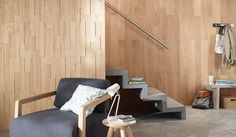 Interieur and d coration on pinterest - Dalles murales adhesives ...