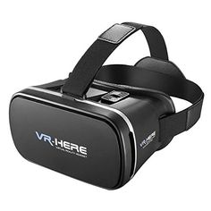 Collectible Trading Card Gameplay Accessories - Fenyi Virtual Reality Headset VR Box Panoramic Video Game 3D Viewing Glasses Head Mount Display VRPark V3 For 4760 Android Or IOS -- You can find out more details at the link of the image.