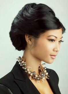 Las Vegas Hair and Makeup Artist, Sarah. Asian make up and hair.