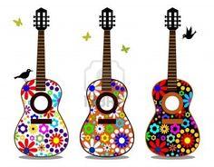 #GUITAR #GUITARRA #FLOWERPOWER