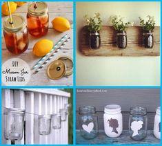 10 Fun Uses for Mason Jars