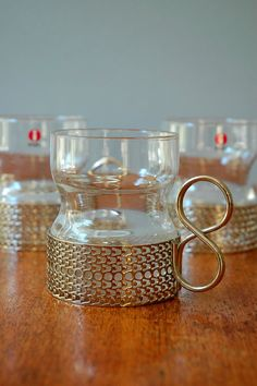 Iittala Tsaikka Sarpaneva Drinking Glasses - Set of Three