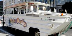 Duck Tour through San Francisco landmarks