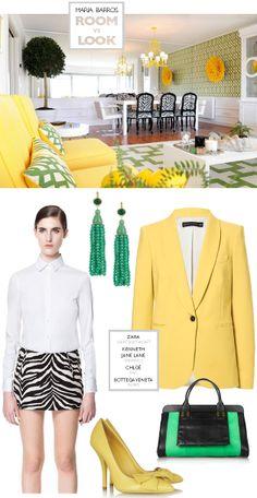 room vs outfit, by Flor de Lisboa