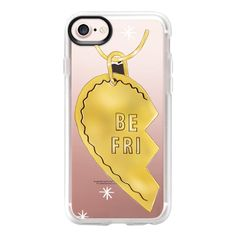 Best friend necklaces - iPhone 7 Case And Cover (€37) ❤ liked on Polyvore featuring accessories, tech accessories, iphone case, clear iphone case, iphone cases, apple iphone case and iphone cover case