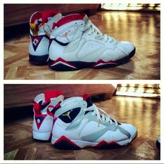 online store 88b01 9f00d 2011 Cardinal 7s (Top) vs. 2012 Olympic 7s (Bottom) · Jordans SneakersAir  ...