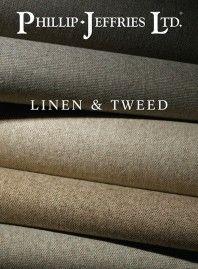 Phillip-Jeffries Linen & Tweed wallpaper collection