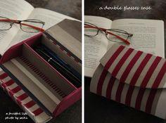 ペンとメガネの為のケース