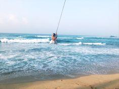 Things to do in Unawatuna - palm tree swing