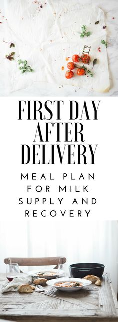 After delivery, it is so important to choose the right nutrients. Here is a meal plan I put together to help your body recover as well as encourage your milk supply!