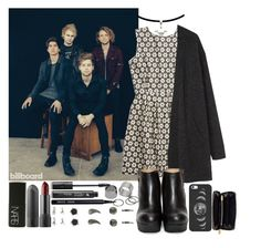 """""""photoshoot for billboard magazine w/5sos"""" by purplemonkeys005 ❤ liked on Polyvore featuring Pieces, Madewell, Acne Studios, NARS Cosmetics, LashFood, Bobbi Brown Cosmetics, Casetify, Marc by Marc Jacobs and Mary"""
