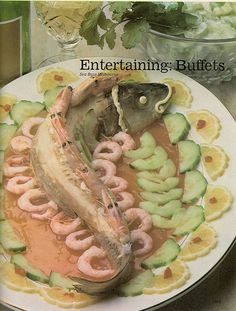Imagine the expressions on the faces of your unsuspecting dinner guests when they behold this on your buffet table.