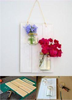Original hanging vase