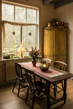 Late 19th century Dutch house interior at Christmas