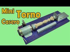 Cómo Hacer Un Super Mini Torno (Muy fácil de hacer) - YouTube