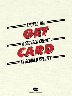 If it's credit card debt that got you into credit trouble in the first place, the idea of getting a secured credit card to rebuild credit raises some very good questions. Get the answers.