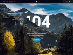 Day - 404 Page by Nainoa Shizuru Ui Ux Design, Site Design, Graphic Design, Header Banner, Banners, Type Illustration, Illustrations, 404 Pages, Error Page