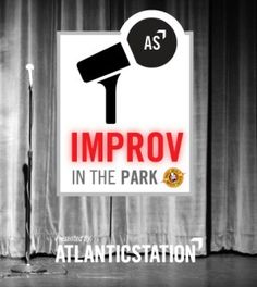 Don't miss free improv the first Wednesday of every month in Central Park!  Whole World Improv Theatre is excited to partner with Atlantic Station to bring Improv in the Park back to Midtown, Atlanta!  Come enjoy a free improv show performed by Whole World Improv Theatre the first Wednesday of every month starting in April.  Bring a blanket and relax under the stars in Atlantic Station's Central Park.  Show begins at 8:00 p.m., but arrive early to get a great seat!  WHO: Whole Wold Improv…