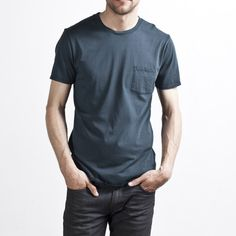 Everlane's Men's Pocket in Mediterranean $15