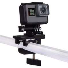 PULUZ PU196 Multifunctional Fixing Clamp Universal Aluminum Alloy Mount for Sport Action Camera
