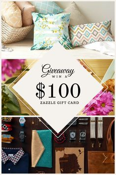 #PinToWin $100 Zazzle Gift Card in the LadyPrints Giveaway. 6/23. #Sweepstakes