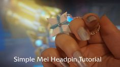 Overwatch Mei Polymer Clay Headpin Tutorial | Charm Sculpting How To | DIY Clay Jewelry