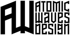 Atomic Waves Design - New Logo 2020 Wave Design, Logo Design, Graphic Design, Transcription And Translation, Branding, Company Logo, Waves, Social Media, Logos