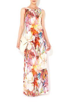 Flower Column Maxi Dress #WallisFashion