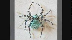 Beautiful Spiders - Handcrafted With Beads And Crystals From Portia's Crafts