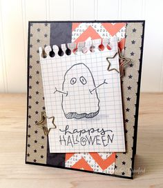 boo happy halloween Technique Tuesday by Kimberly Crawford by kimberlykscrawford, via Flickr
