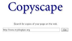 Check Duplicate Content (Plagiarism) online  Copyscape is No. 1 tools to checking for duplicate content. From this website just enter the url of the page and see The results of the duplicate content.  you can also see their  original post. If you want more result then choose premium option which are available as a offers of unlimited scans and you can checks up to 10,000 pages in a single click for finding duplicate content.