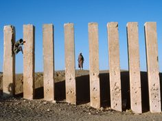 Limestone Pillars, Yemen. Lynn Abercrombie.