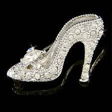 w Swarovski Crystal ~Cinderella Glass Slippers~ High Heel shoes Fairy Pin Brooch in Jewelry & Watches, Fashion Jewelry, Pins & Brooches Bling Bling, High Heels For Kids, Shoe Boots, Shoes Heels, Buy Shoes, Christian Louboutin, Princess Shoes, Glass Slipper, Beautiful Shoes