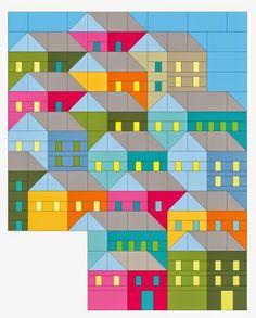 All Around The Neighborhood Pattern Set At Everything