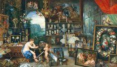 Jan Brueghel der Ältere - Das Gesicht