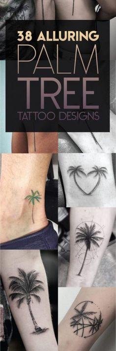 Palm Tree Tattoo Designs | TattooBlend @kang005
