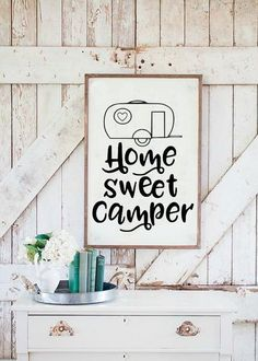 Home Sweet Camper Camping SVG DXF EPS PNG Cut File • Cricut • Silhouette