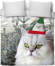 Check out my new product https://www.rageon.com/products/christmas-cat-duvet-cover on RageOn!